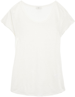 Joie Slub Cotton-jersey T-shirt
