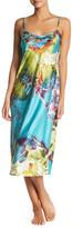 Natori Sleeveless Print Gown