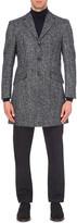 Richard James Herringbone wool and alpaca-blend coat