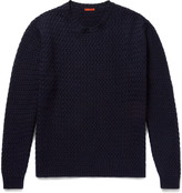 Barena - Slim-fit Basketweave Wool-blend Sweater