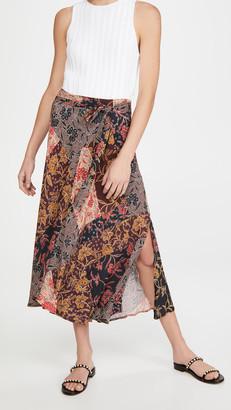 Velvet Swan Skirt