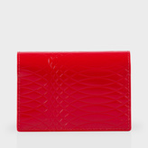 Paul Smith No.9 - Red Patent Leather Credit Card Wallet