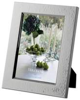 """Vera Wang Wedgwood Hammered 5"""" x 7"""" Picture Frame"""