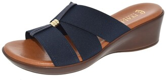 Italian Shoemakers Jeanna Strappy Wedge Sandal