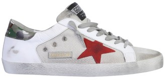 Golden Goose Superstar Distressed Sneakers