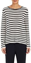 Nili Lotan Women's Julia Striped Lightweight Cashmere Sweater