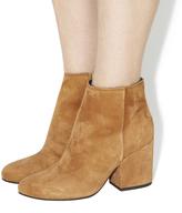 Office Ink Block Heel Boots