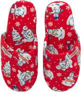 Cath Kidston Snowmen Hotel Slippers