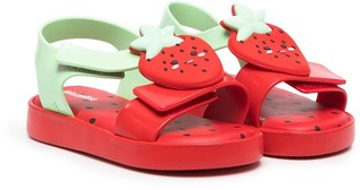 Mini Melissa Strawberry open-toe sandals