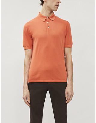 Eleventy Cotton-knit polo shirt
