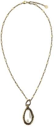 Alexander McQueen Pendant Chain Necklace