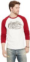 Denim & Supply Ralph Lauren Jersey Graphic Baseball Tee