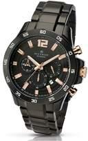 Accurist Black Dial Chronograph Bracelet Mens Watch