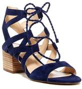 Vince Camuto Fauna Ghillie Block Heel Sandal