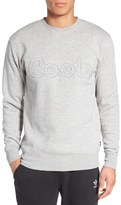 Barney Cools Men's Embroidered Crewneck Sweatshirt