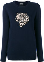 Markus Lupfer sequin tiger sweater