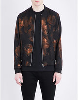 The Kooples Palm Cotton-blend Jacquard Jacket