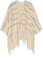 Rag & Bone Embroidered Cotton-Cloqué Wrap