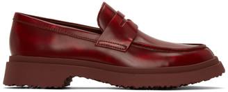 CamperLab Red Walden Loafers