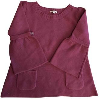Sandro Pink Wool Knitwear for Women