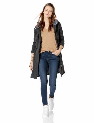 Yoki Women's Long Anorak Fleece Jacket Outerwear