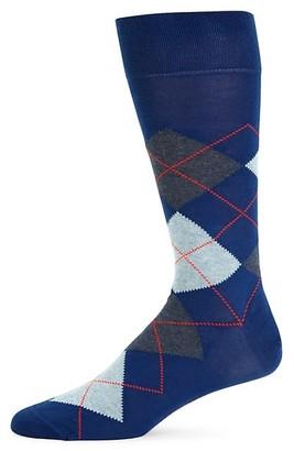 Marcoliani Milano Argyle Crew Socks