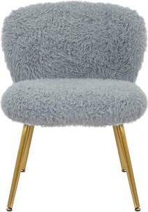 Mercer41 Plush Foam Upholstered Side Chair Upholstery Color: Gray