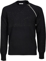 Paolo Pecora Zipped Shoulder Sweater