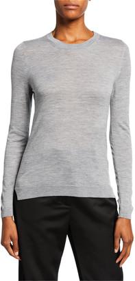 PARTOW Greta Crewneck Crop Sweater
