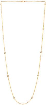 Gucci Interlocking G Necklace in Gold | FWRD