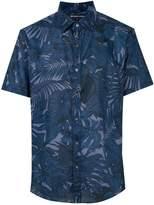 Michael Kors tropical-print shirt