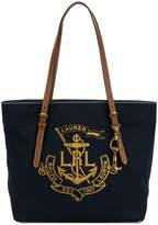 Ralph Lauren logo shopper tote