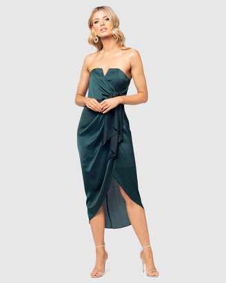 Pilgrim Women's Green Midi Dresses - Maisha Gown - Size One Size, 16 at The Iconic