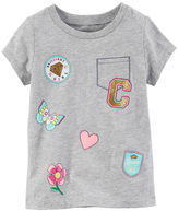 Carter's Faux Pocket Graphic Tee