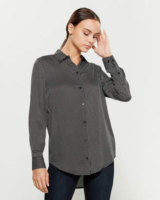 Equipment Essential Square Printed Shirt