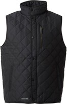 Trespass Mens Forsyth Quilted Gilet Black