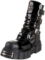 New Rock Black Leather M.313 S1 Men Metallic Women Ready-Stock Size 46