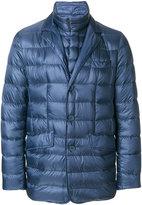 Herno padded blazer jacket - men - Feather Down/Polyamide/Wool - 46
