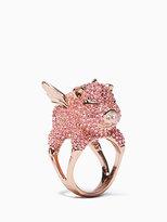 Kate Spade Imagination pave pig ring
