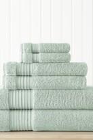 Amrapur 6-Piece Turkish Cotton Towel Set - Aqua