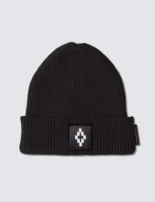 Marcelo Burlon County of Milan County Logo Beanie