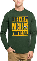 '47 Men's Green Bay Packers Compton Club Long-Sleeve T-Shirt