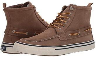 Sperry Bahama Storm Boot (Tan Suede) Men's Lace-up Boots