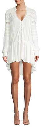 Free People High-Low Knit Top