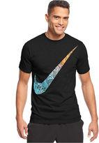 Nike Shirt, Oversized Swoosh Graphic T-Shirt