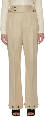 Maison Margiela Button detail trench waist pants