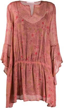 Kristina Ti lightweight floral dress