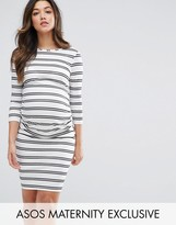 Asos Twin Stripe Bodycon Dress