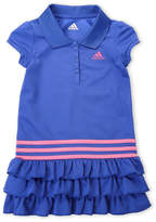 adidas Girls 4-6x) Ruffle Polo Dress