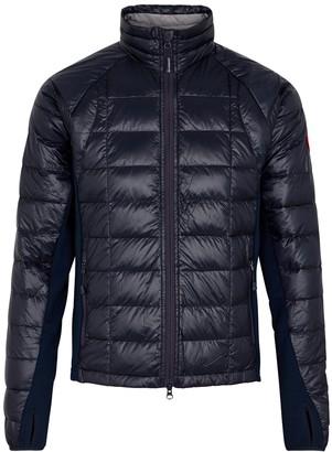 Canada Goose HyBridge Lite navy shell jacket